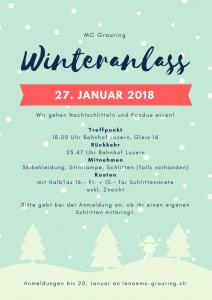 Winteranlass @ Treffpunkt Bahnhof Luzern